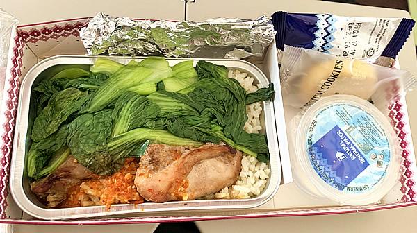 ブルネイ 機内食