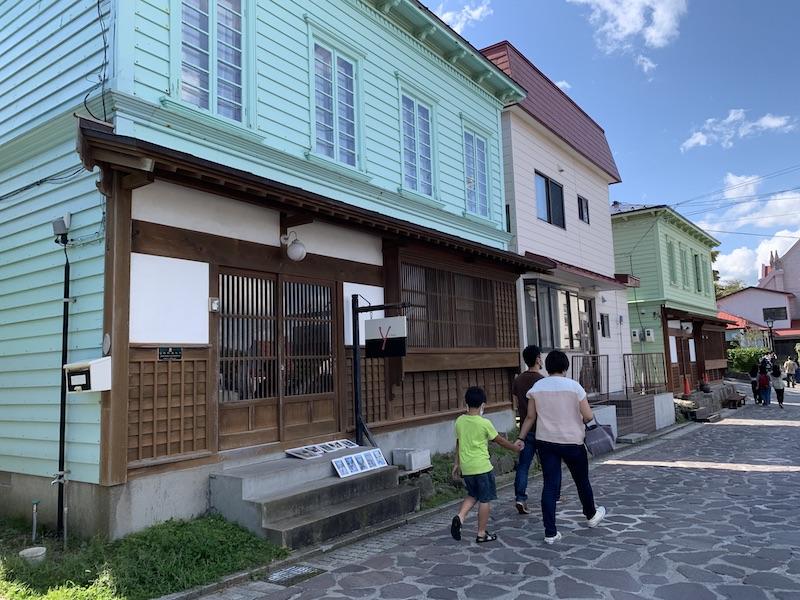 カトリック元町教会近くのお店 @ 函館