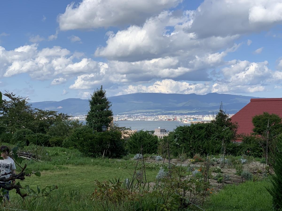 函館ハリストス正教会から見える景色