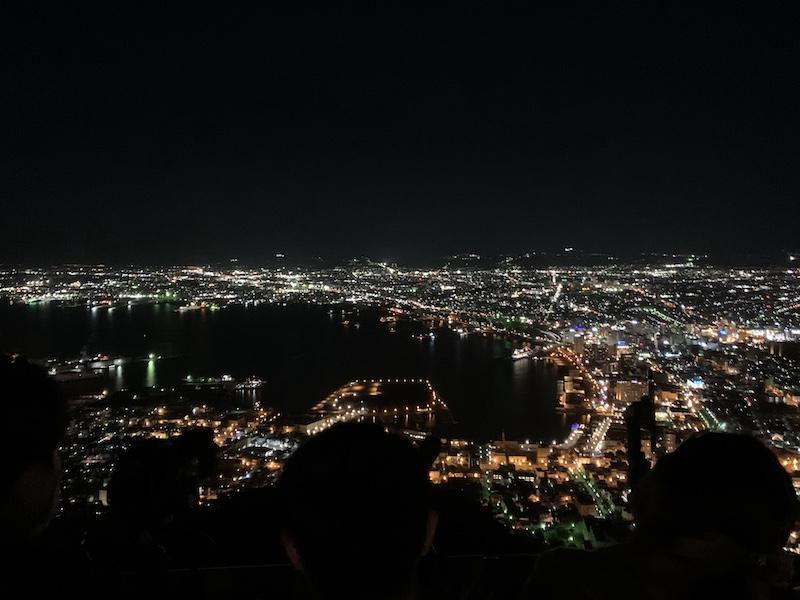 100万ドルの夜景 @ 函館