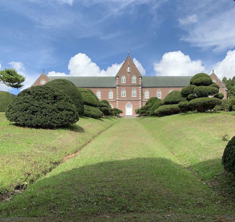 トラピスト修道院の建物