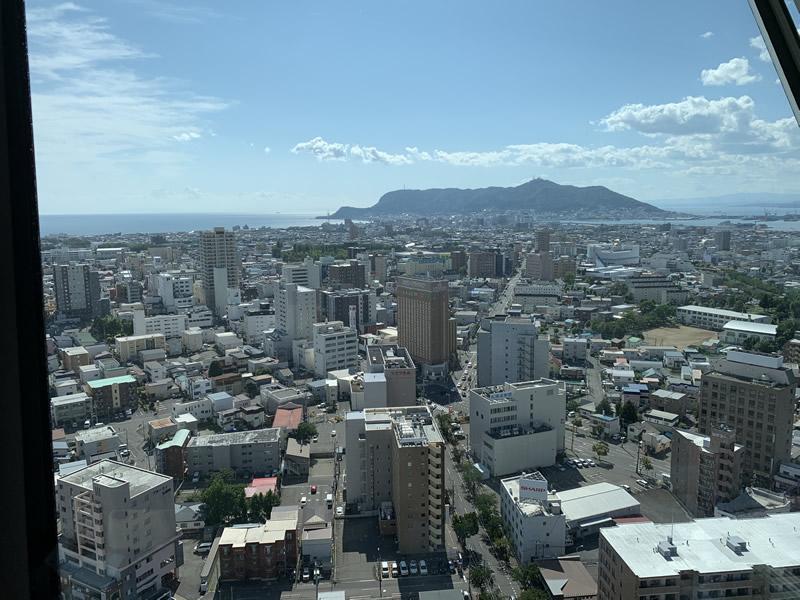 五稜郭タワーからの眺め