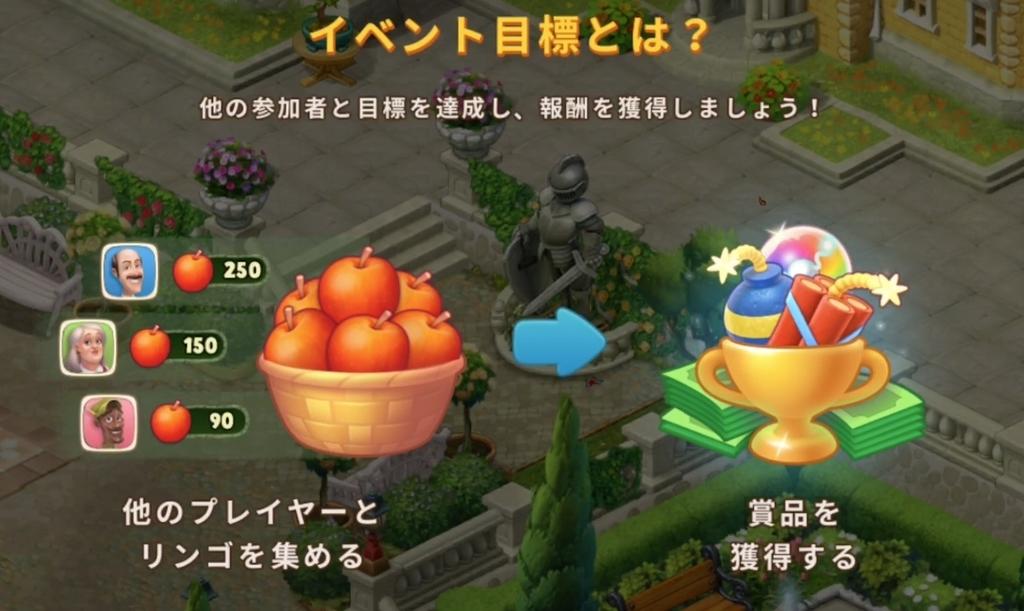 秋イベントリンゴ大収穫のルール