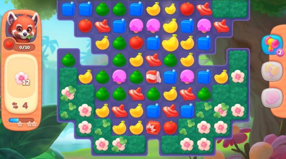 ワイルドスケイプパズル画面