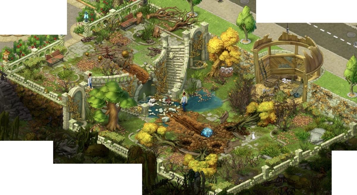 ガーデンスケイプ エリア13 宇宙の庭