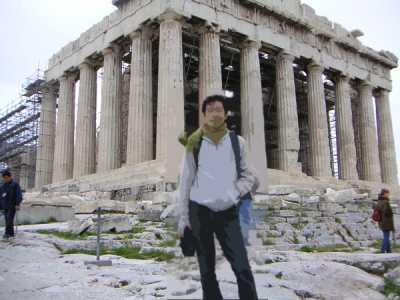 パルテノン神殿(ギリシャ:アテネ)