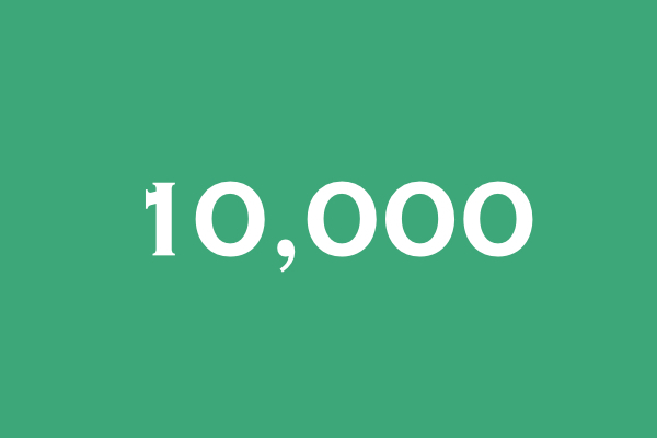 10000pv
