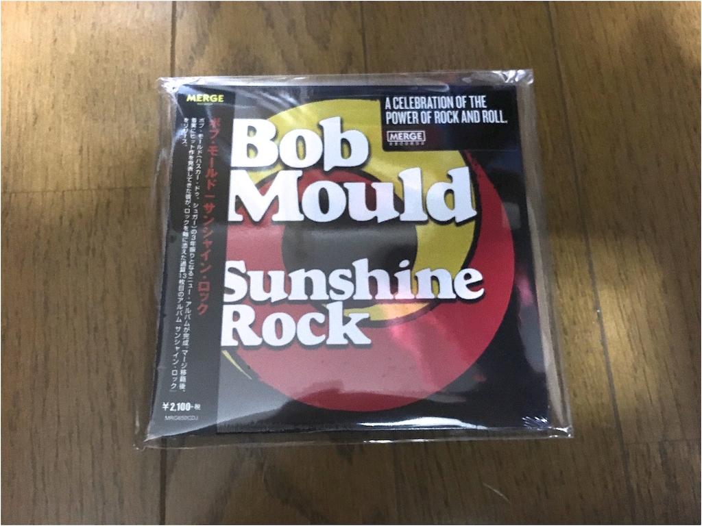 Bob Mouldのアルバム、Sunshine Rockのアルバムアート