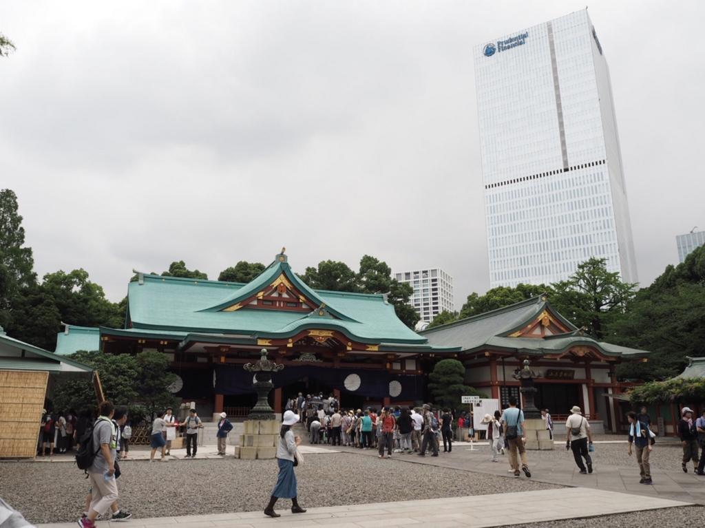 日枝神社全景
