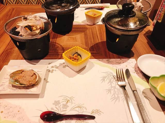 ホテル三日月富士見亭の食事