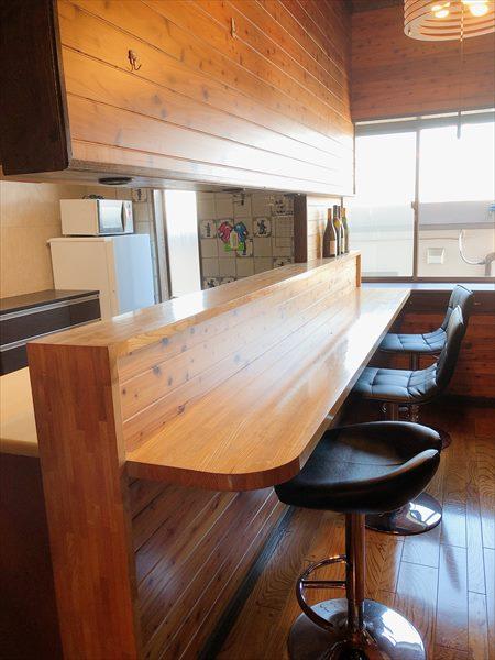 リフォーム後の2階のキッチン