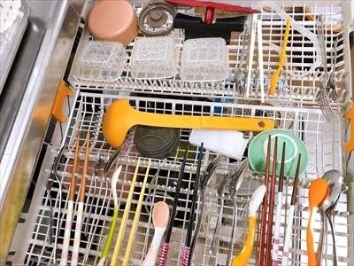 食洗機ミーレのカトラリートレイ