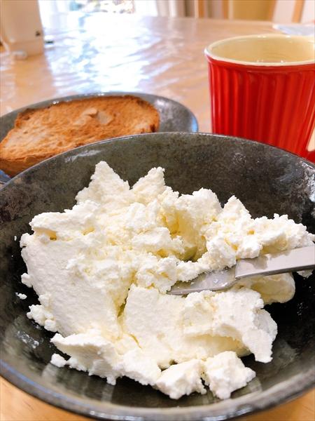 ホットクックで作ったクリームチーズ