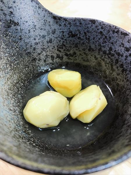 ホットクックで作った栗の甘露煮