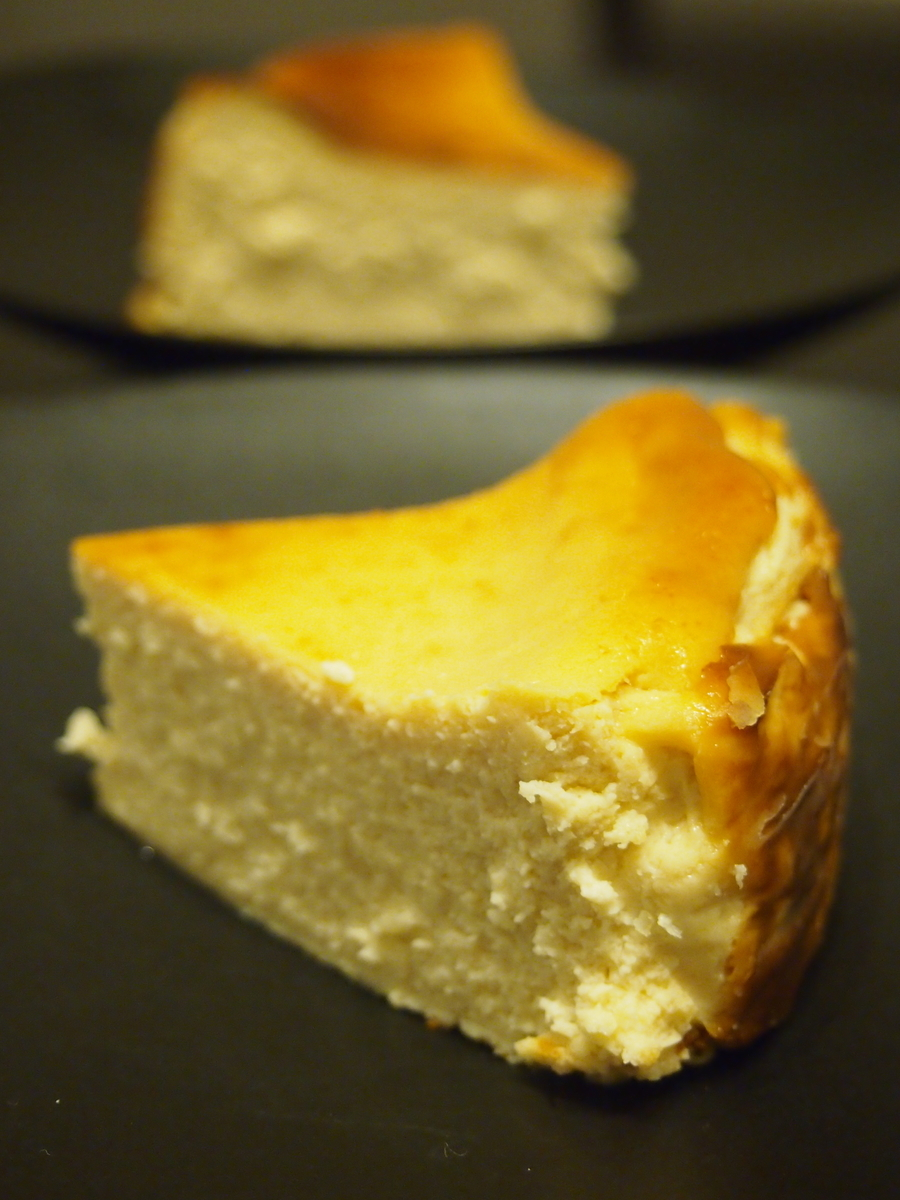 手作りバスクチーズケーキ