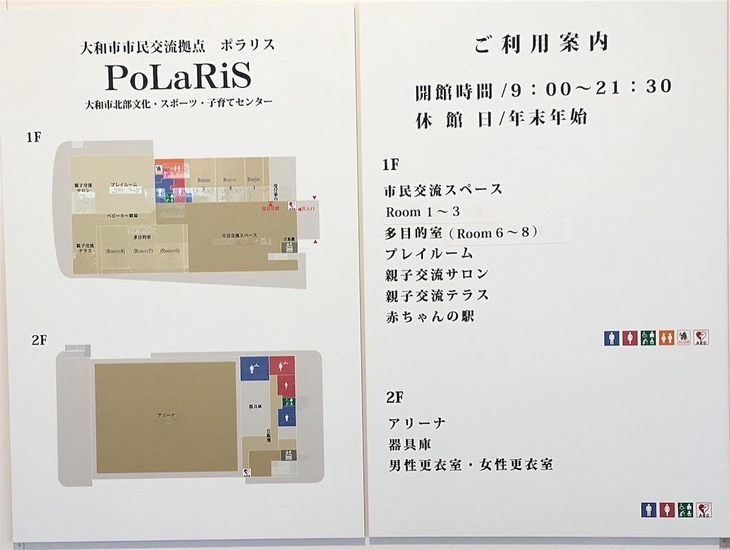 ポラリス-PoLaRiS-館内地図