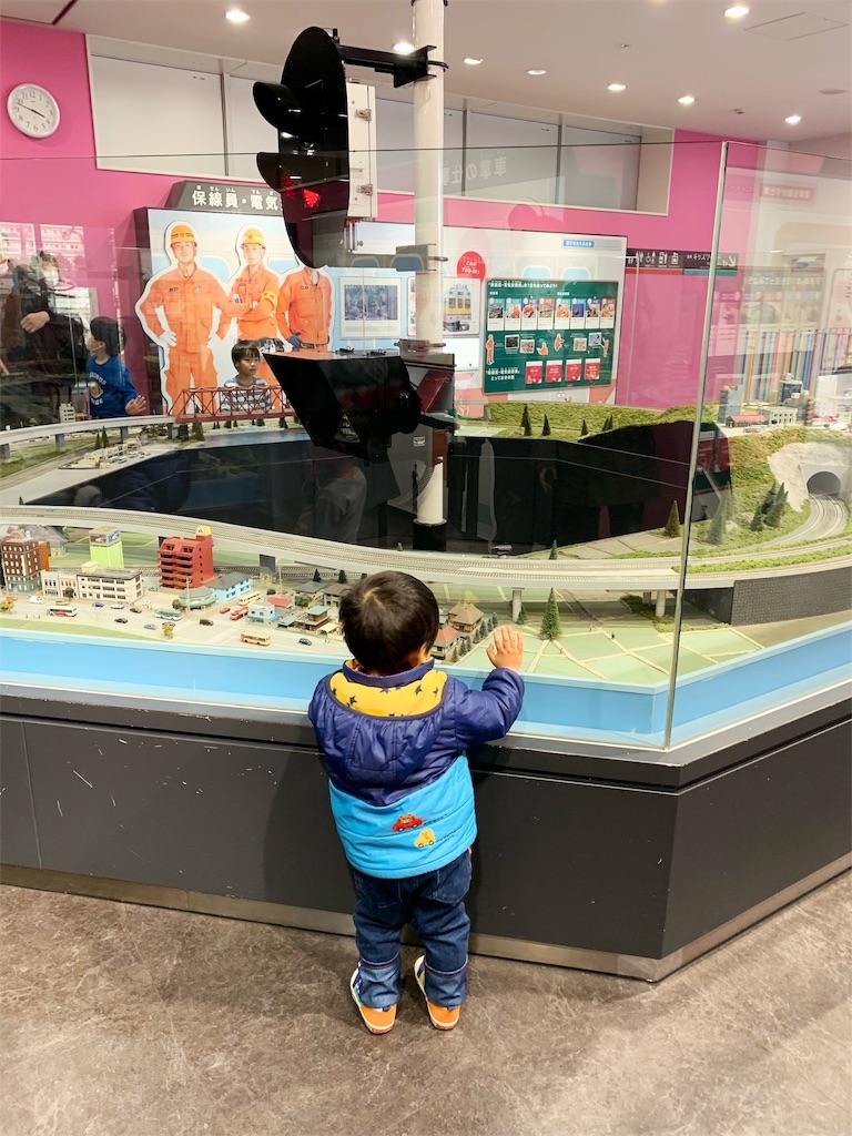 電車とバスの博物館 ジオラマ・シミュレーター