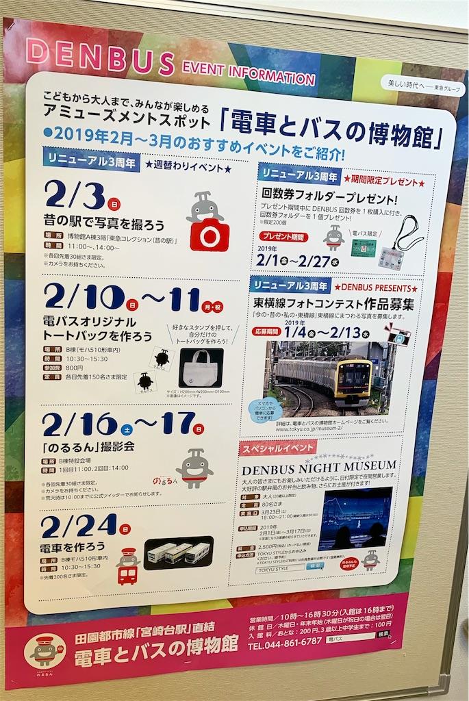 電車とバスの博物館 イベント