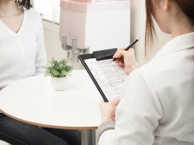 オルビス店舗の肌診断・パーソナルスキンチェック