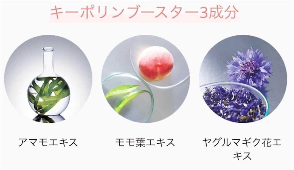化粧水「オルビスユー ローション」の保湿成分