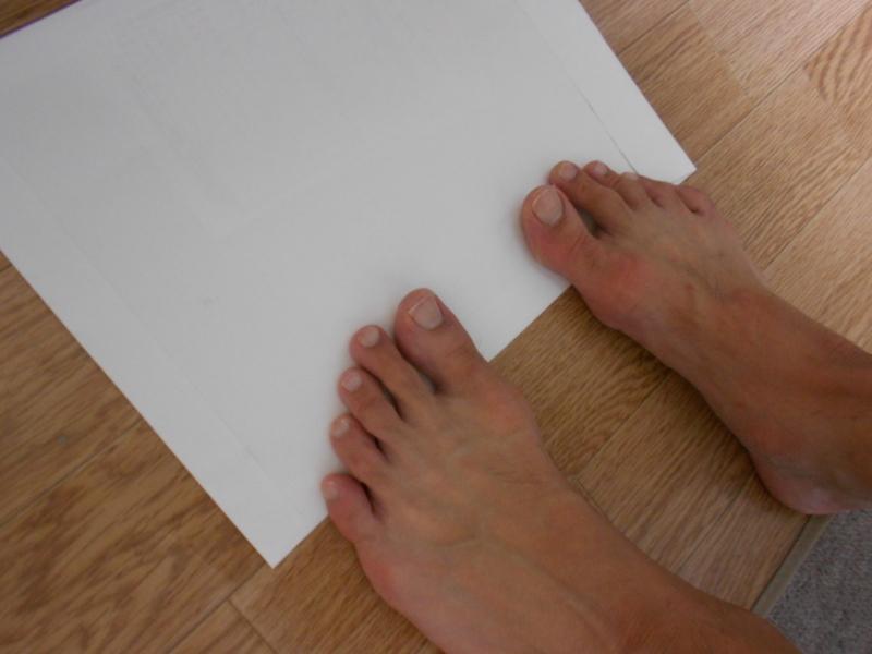 「浮き指 チェック」の画像検索結果