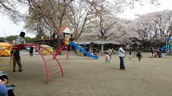 かしの森公園 遊具