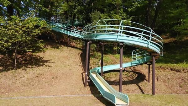 益子町南運動公園 ローラーすべり台