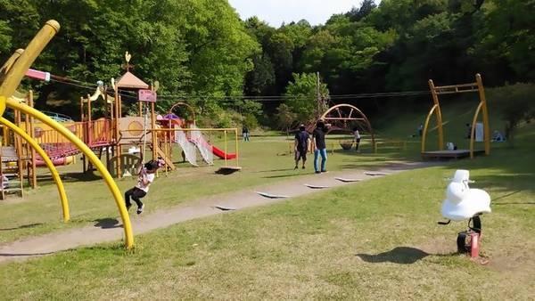 益子町南運動公園遊具