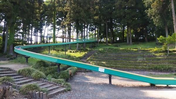 芳賀 唐桶宗山公園 ロングローラーすべり台