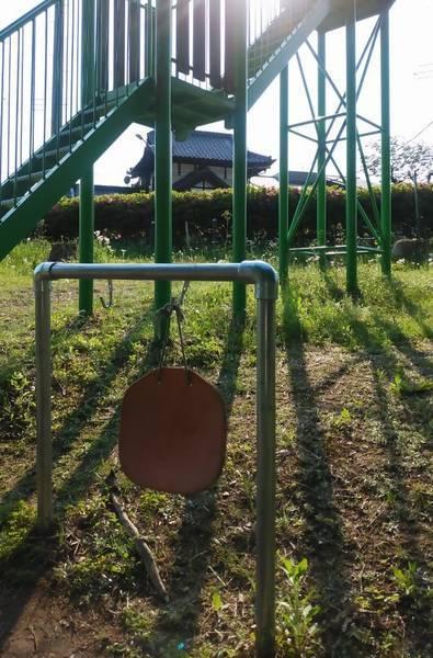 芳賀 唐桶宗山公園 すべり台マット