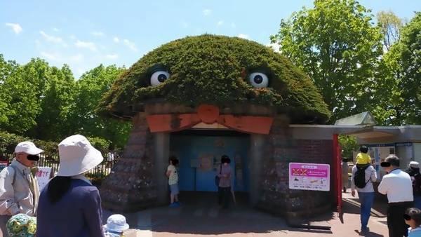 壬生町 わんぱく公園 正門ゲート