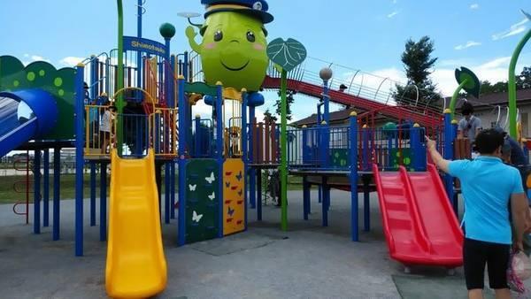 下野市 大松山運動公園 遊具