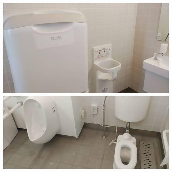 下野市 大松山運動公園 子ども用トイレ