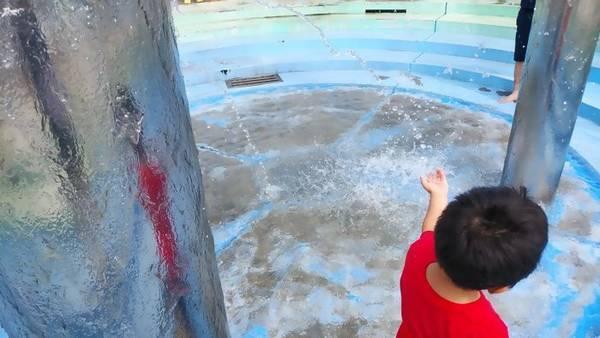 大田原市なかがわ水遊園噴水2