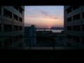 病院からの風景 日没