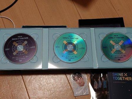 シャインバイトゥゲザー 3枚組 K-POP