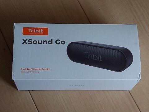 Tribit Xsound Go Bluetoothスピーカー