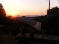 夕日の共有 哲学の道