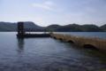 [廃墟]片島 魚雷発射試験場跡 魚雷収蔵施設 発射台と監視塔
