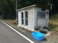 [温泉]湯川温泉 ジモ専共同湯横の垂れ流し@二河地区