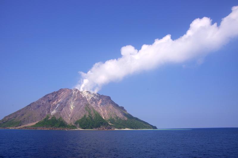硫黄岳 薩摩硫黄島