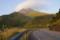 大分県道11号線から由布岳