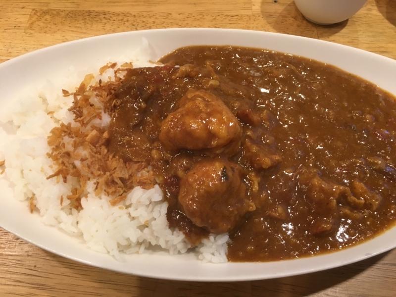 元町カレーパルフェ 栄町店 トマトチキンカレー