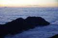 燕山荘から雲海