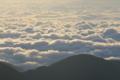 常念岳から雲海