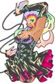 [イラスト][ドット絵]灰かぶり姫 / CLIE TH55+MoePaint