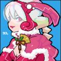 うさぎガール/CLIE TH55+MoePaint