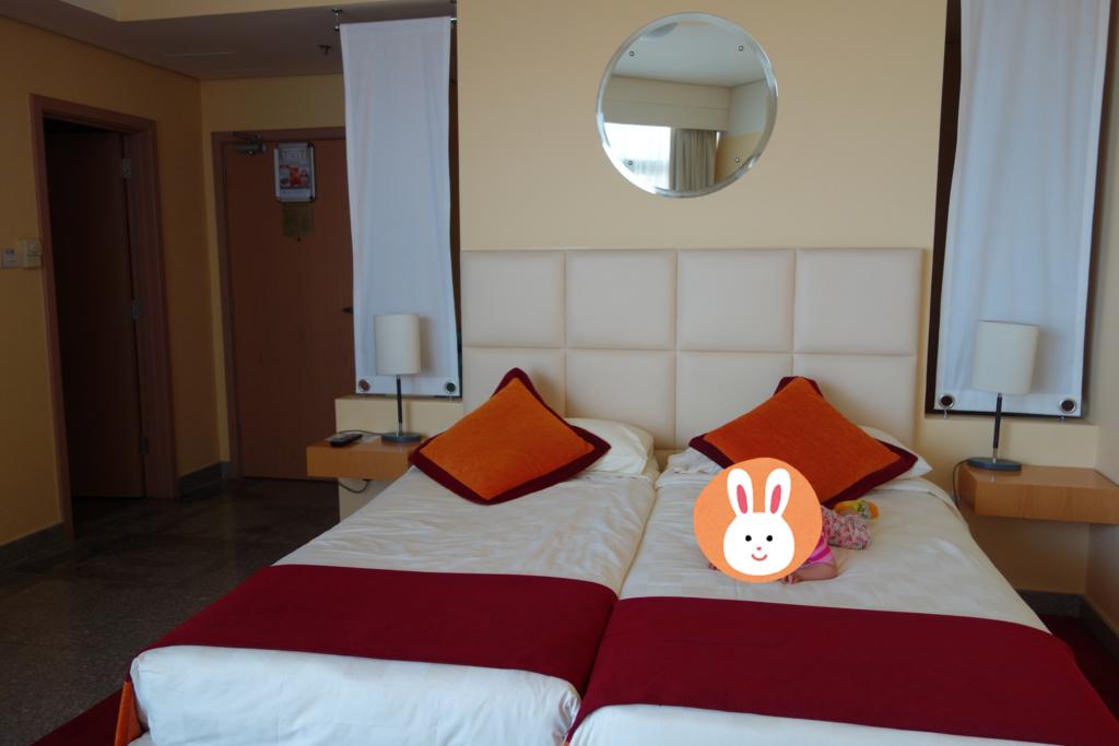 ドバイコネクトで利用したホテル