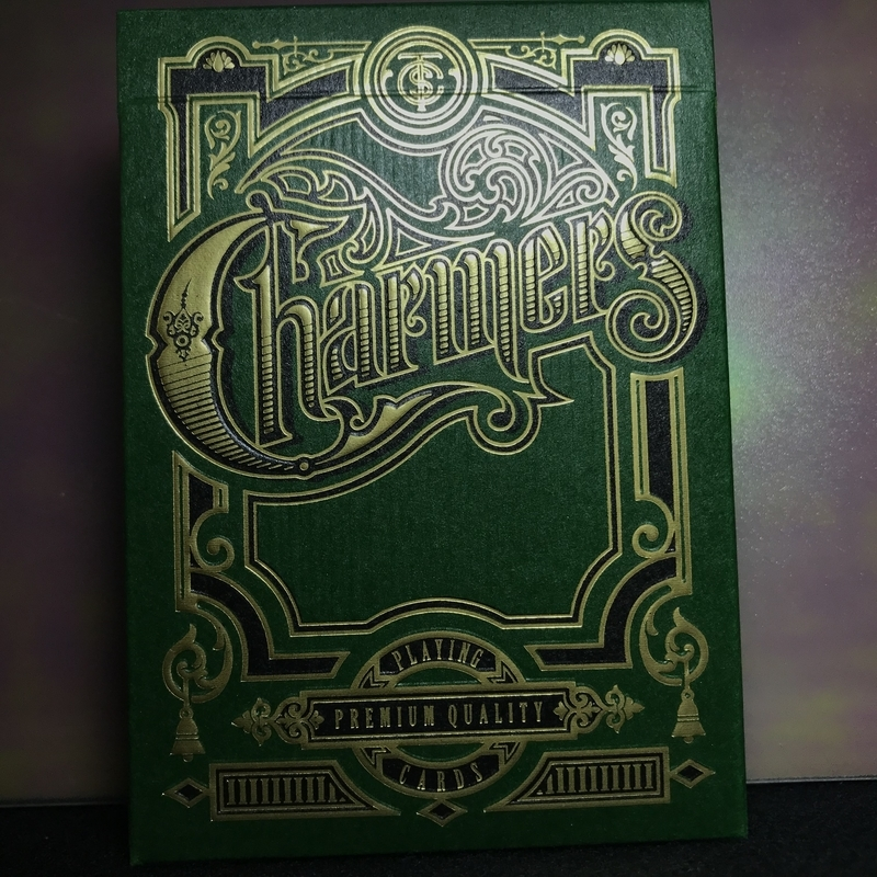 CHARMERS Playing Cards -Green Edition