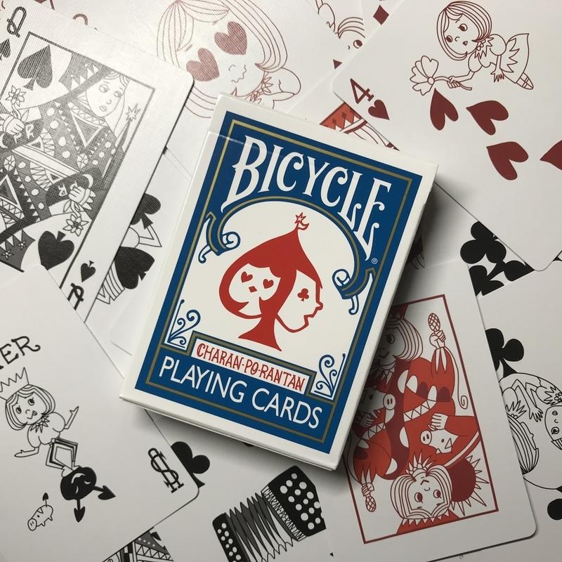 CHARAN-PO-RANTAN BICYCLE PLAYING CARDS